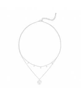 Adria necklace - Fine White...