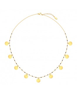 Miû necklace - Fine Gold