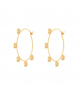Miù Earrings - Gold Fin