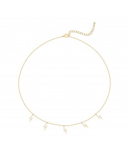Lizzie Necklace - Fine Gold