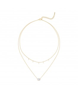 Mira Necklace - Fine Gold